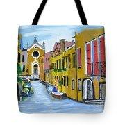 Venice In September Tote Bag