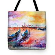 Venice Italy Gondola Ride Tote Bag