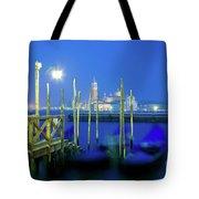 Venice Lagoon At Dusk Tote Bag