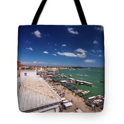Venice Lagoon Panorama - Bird View Tote Bag