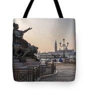 Venice - Monumento Nazionale A Vittorio Emanuele  Tote Bag