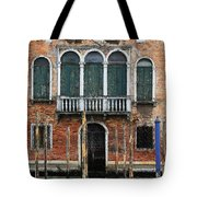 Venice Old Palace Tote Bag by Julian Perry