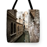 Venice One Way Street Tote Bag by Milan Mirkovic