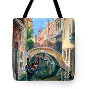 Venice Ponte Widmann Tote Bag