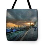 Venice Promenade Tote Bag