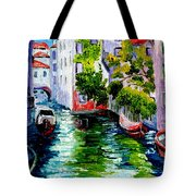 Venice Reflection Tote Bag