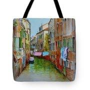 Venice Washing Day Tote Bag