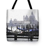 Venice Waterfront Tote Bag