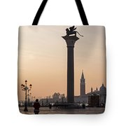 Venice - Winged Lion Of St Mark Tote Bag