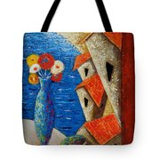 Ventana Al Mar Tote Bag by Oscar Ortiz