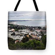 Ventura Coast Skyline Tote Bag