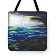Ventura Seascape At Night Tote Bag