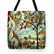 Venturing Out By Madart Tote Bag
