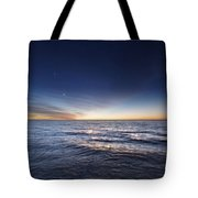 Venus And Jupiter In Conjunction Tote Bag