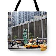 New York's Venus De Milo Tote Bag