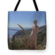 Venus In Eze's Garden Tote Bag