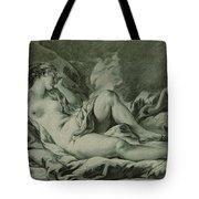 Venus Sleeping Tote Bag