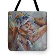 Venus Williams - Portrait 1 Tote Bag