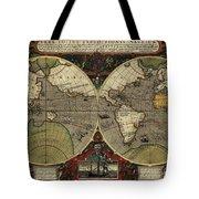 Vera Totius Expeditionis Nauticae Of 1595 Tote Bag