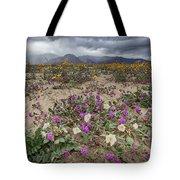 Verbena And Primrose Tote Bag