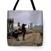 Vercingetorix Before Caesar Tote Bag