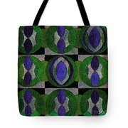 Verdant Pattern Tote Bag