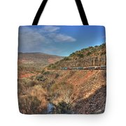 Verde Canyon Rr Tote Bag