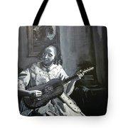Vermeer Guitar Player Tote Bag