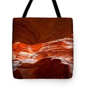 Vermilion Cliffs Abstract Tote Bag