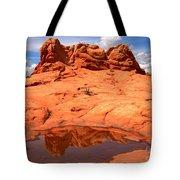 Vermilion Cliffs Reflections Tote Bag
