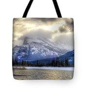 Vermillion Vista Tote Bag