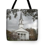 Vermont Church Tote Bag