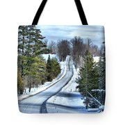 Vermont Country Landscape Tote Bag