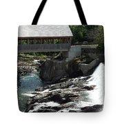 Vermont Covered Bridge Tote Bag