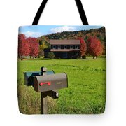 Vermont Farm In Autumn Tote Bag