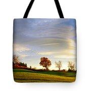 Vermont Hilltop Sunrise Tote Bag