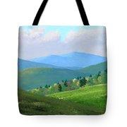 Vermont Pastures Tote Bag