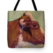 Vermont Red And White Tote Bag