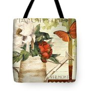 Vermont Summer Watering Can Tote Bag