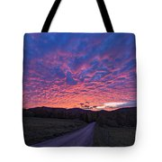 Vermont Sunset Tote Bag