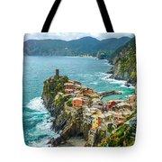 Vernazza, Cinque Terre, Liguria, Italy Tote Bag