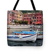 Vernazza Fishing Boats Tote Bag