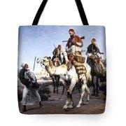 Vernet: Arabs, 1843 Tote Bag