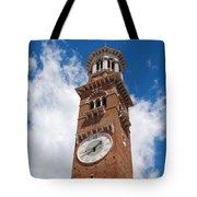 Verona Italy - Beautiful Torre Dei Lamberti Tote Bag