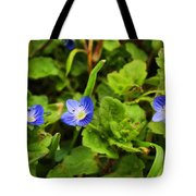 Veronica Speedwell Tote Bag