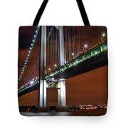 Verrazano Bridge Tote Bag