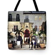 Versace Mansion South Beach Tote Bag