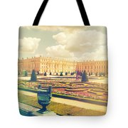 Versailles Gardens And Palace In Shabby Chic Style Tote Bag