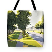 Versailles Travel Poster Tote Bag