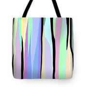Vertical Coloration Tote Bag